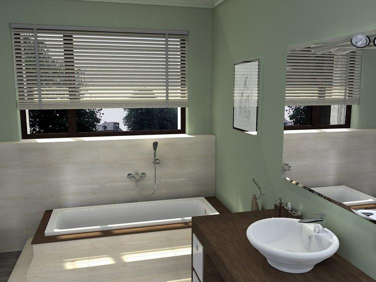 raamdecoratie voor de badkamer | raamidee, Badkamer