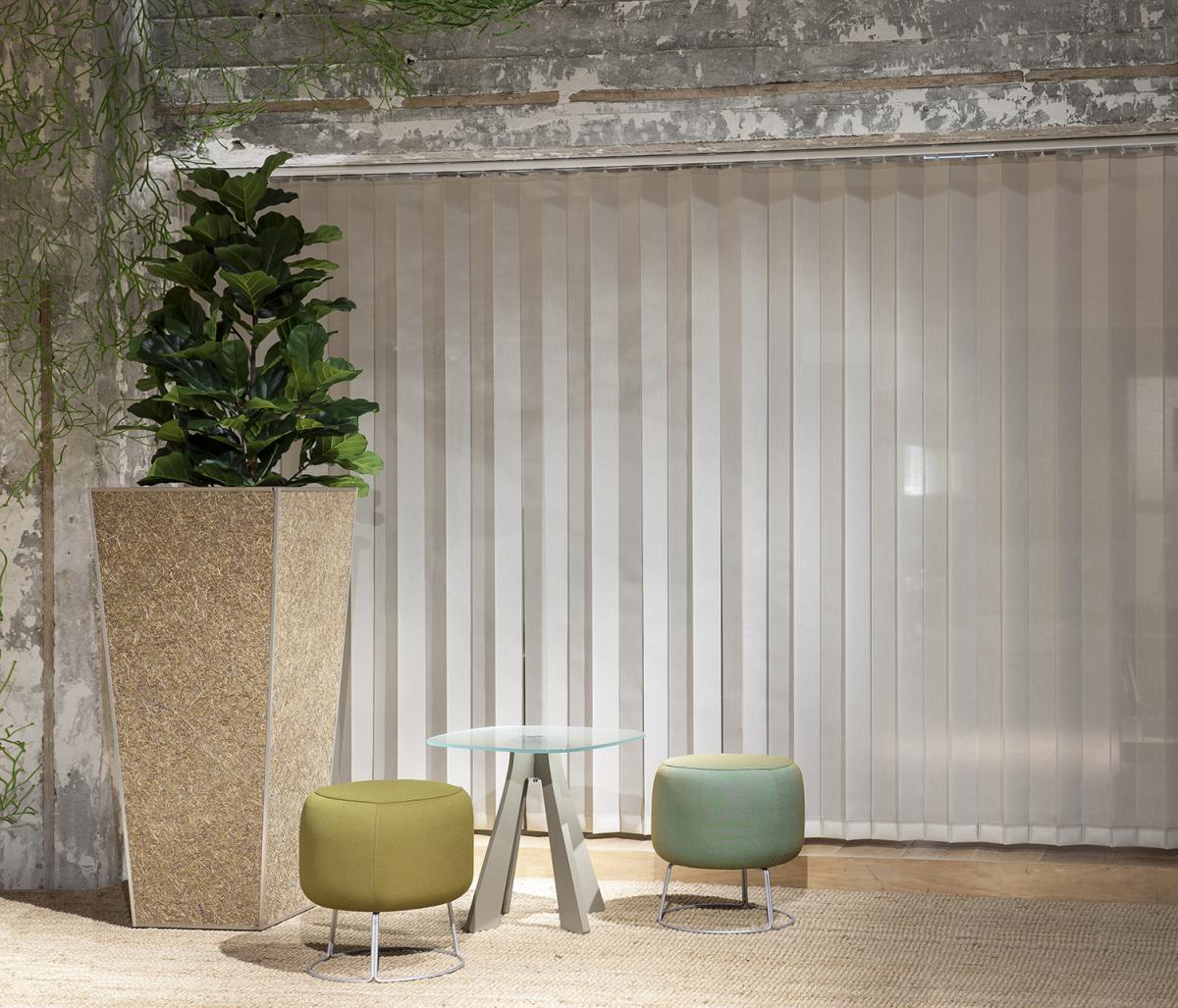 verticale lamellen jasno swings voor grote ramen raamidee