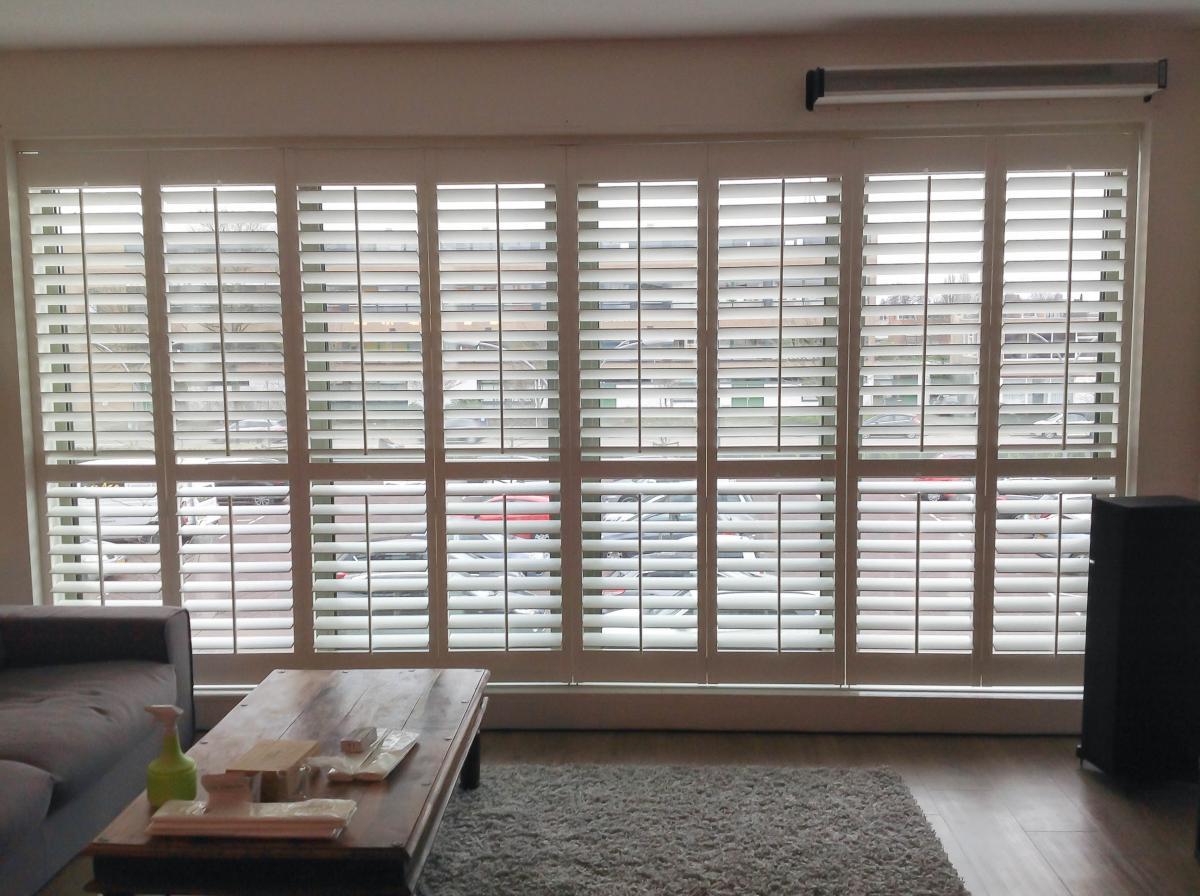 shutters voor een breed raam raamideenl